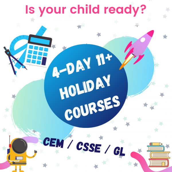 11 plus holiday course