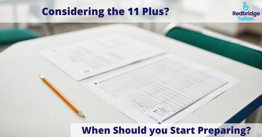 11 plus exam preparation